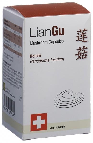 LIANGU Reishi Mushrooms Kaps Ds 180 Stk