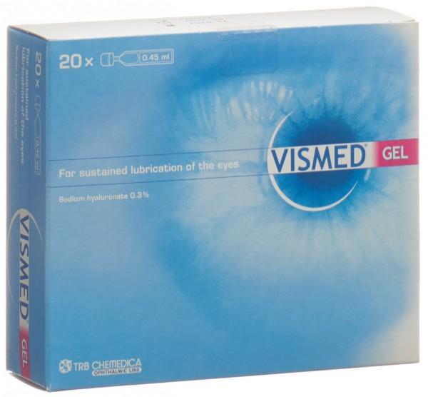 VISMED Gel 3 mg/ml Hydrogel 20 Monodos 0.45 ml